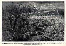 Zu den Kämpfen um Gorlice-Tarnow 1915  T.S.Orf  Kriegsmaler * War Artist * 1.WK