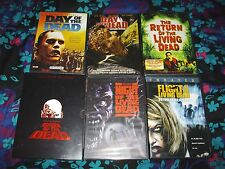 Romero Living Dead Zombie 8 DVD Lot Day Night Flight Return Land Dawn Ultimate