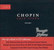 CHOPIN / RUBINSTEIN / BUSON...-Solo Piano Vol. 1 CD NEW