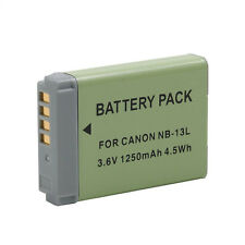 NB-13L NB13L 3.6V 1250mAh Battery For Canon G7X G7 X PM1 Camera