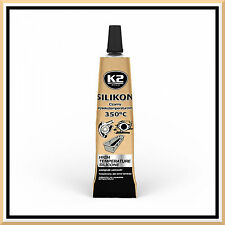42g High Temperature Silicone +350°C Heat Resistant Glue Adhesive Sealant Black