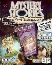 MYSTERY STORIES TRILOGY: ANIMAL AGENTS Hidden Object PC & MAC Game NEW