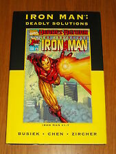 MARVEL PREMIERE CLASSIC VOL 42 IRON MAN DEADLY SOLUTIONS HB GN 9780785142898