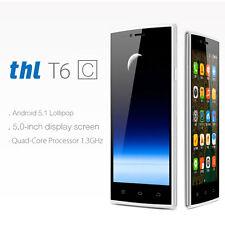THL T6C 5.0'' inch Android 6.0 Quad Core 3G Dual Sim Mobile Smartphone Unlocked