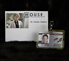 "TV SERIES HOUSE MD EXACT REPLICA COLLECTOR PROP ""DR ALLISON CAMERON"" HOSPITAL ID"