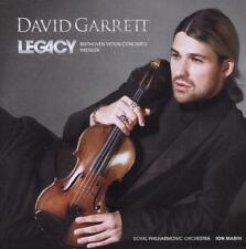 Legacy von David Garrett (2011), Neu OVP, CD
