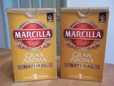 MARCILLA GRAN AROMA NATURAL SPANISH GROUND COFFEE CAFE 2 x 250g