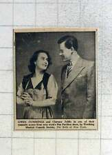 1949 Gwen Cummings And Clarence Jolliffe Romantic Scene Pier Pavilion Worthing