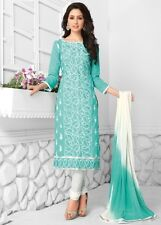 Radiant Cotton Embroidered Salwar Suit Dress Material With Chiffon D.NO PO3013