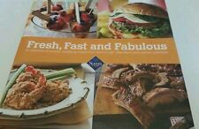 Sam's Club Fresh, Fast, and Fabulous Hardback Recipe Book  - Copyright 2010