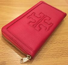Tory Burch Jessica Continental Zip Around Leather Wallet