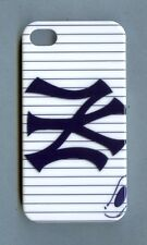 NEW YORK YANKEES 1 Piece Glossy Case / Cover iPhone 4 / 4S (Design 1)+ Stylus