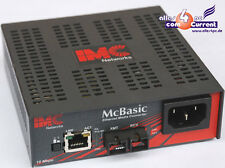 IMC NETWORKS McBASIC TP/FO MM850 TRANSCEIVER CONVERTER OPTIC LAN P/N 55-10231