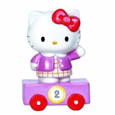 Precious Moments Sanrio Hello Kitty Age 2 Birthday Train Porcelaine Figurine New