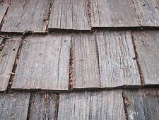 """Used Red Cedar Shakes Shingles Tapered - Old Growth #1 Heavy 24"""" x 3/4"""" Roofing"""