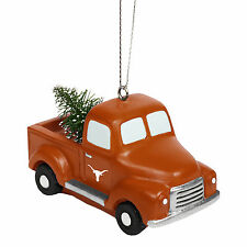 Texas Longhorns NCAA Holiday Christmas Ornament Truck With Tree