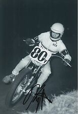 Kenny Roberts Hand Signed 12x8 Photo Yamaha MotoGP 1.