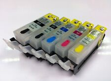 Refillable INK CARTRIDGE PGI-525 CLI-526 Canon Pixma MG5250 MG5350 IP4850 IP4950