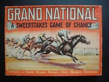 1937 Grand National A Sweepstakes Game of Chance Horse Racing Game