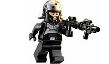LEGO STAR WARS REBELS MINIFIGURE AGENT KALLUS IMPERIAL SECURITY BLASTERS 75083