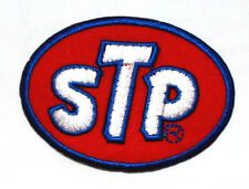 STP Motor oil Gas Nascar Sport Racing Motorcycle Cars Gp badge F1 IRON ON PATCH