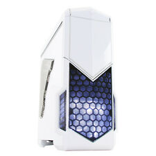 CiT Spectre Gaming PC Case 2 x USB 3 Toolless Card Reader White w/ W