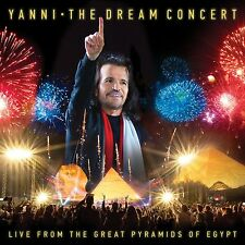 YANNI DREAM CONCERT LIVE FROM THE GREAT PYRAMIDS OF EGYPT CD/DVD (3RDJUNE)NEW