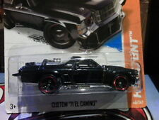 2012 HOT WHEELS CUSTOM '71 EL CAMINO BLACK RARE VHTF MAD MAX STYLE CHEV