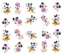 Nail Art Decals Transfers Stickers Mickey & Minnie Mouse (DA378)