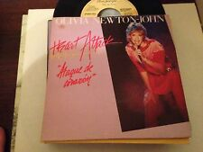 "OLIVIA NEWTON JOHN - SPANISH 7"" SINGLE SPAIN PROMO HEART ATTACK"