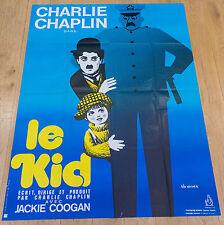 Affiche de cinéma : LE KID de CHARLIE CHAPLIN
