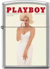 Zippo Playboy February 1962 Cover Street Chrome Windproof Lighter NEW RARE