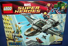 LEGO 6869  Super Heroes Marvel Avenger's QUINJET AERIAL BATTLE NISB new retired