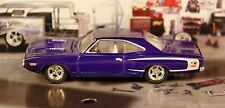 1970 70 Dodge Super Bee 7.0L 425hp 426ci Hemi V-8 �� 1/6 Muscle Car Rubber Tires