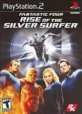 Fantastic 4: Rise Of The Silver Surfer PlayStation 2 PS2 Complete Tested Works