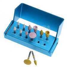 Dental Diamond Polishers Polishing for Porcelain Set For Low Speed Contra Angle