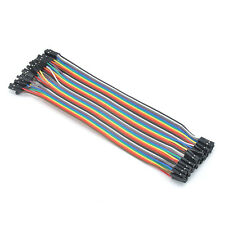 Hot Creative 40Pc Jumper Wire Cable Female to Female 20cm For Arduino Breadboard