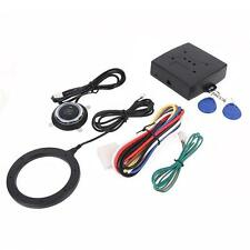 12V Passive Keyless Entry Car Alarm System With Push Button Engine Start Stop