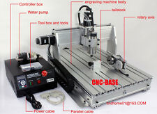 four 4 axis 3040 1500W CNC Router cnc engraving milling machine engraver mach3