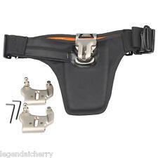Pro Belt-mounted Holster Dual Digital DSLR Camera Belt Support hanging System