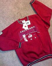 NWT men's LEE Sport NHL Colorado AVALANCHE large L sweatshirt MSRP $48