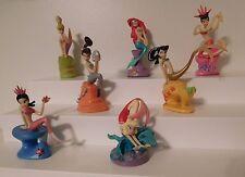 Disney Little Mermaid Ariel & Sisters PVC Figure Pack Complete Set Of 7