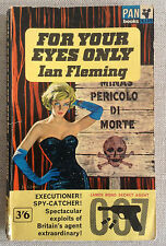 For Your Eyes Only - Ian Fleming (Pan PB, 1963) Quantum Solace / View to a Kill