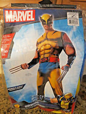 NEW Rubie's Marvel X-Men Wolverine Muscle Chest Adult Men's Costume- XL NWT