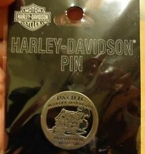 NIP Pacific Harley Davidson Honolulu Hi vest PIN electra street tour glide dyna