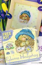 COUNTRY COMPANIONS EDWINA HEDGEHOG CHART & SMALL  KIT