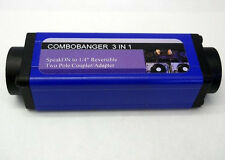"""COMBOBANGER  SpeakON to 1/4"""" Reversible (3 in 1) Two Pole Coupler and Adapter"""
