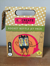 Go Create Eco Craft Kit - Rocket Bottle Jet Pack - Kids Creative Arts and Crafts
