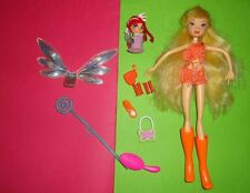 Very RARE Poupée Doll WINX CLUB Original Mattel stella magic pixie mini fée