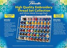 Brother ETKS63 Embroidery Thread Set With Metal Rack 1100Yd NEW !